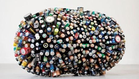 piles recyclées