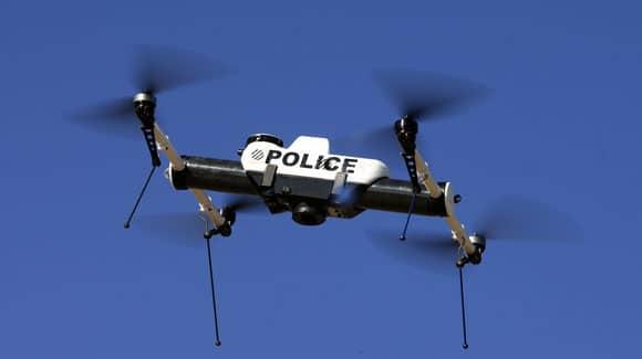 Drone de la police