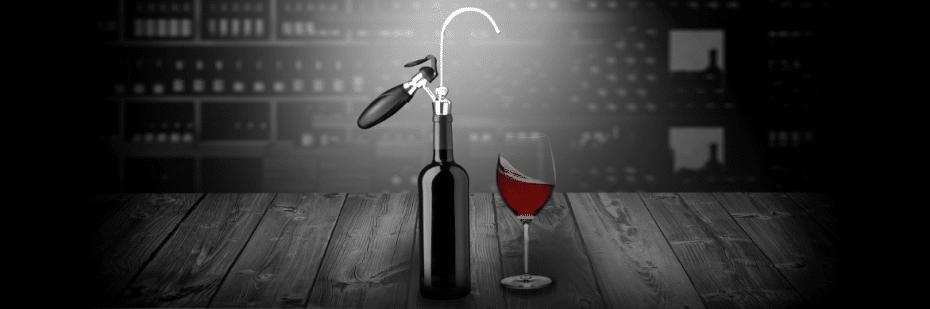 Wikeeps: système de conservation et de service du vin au verre
