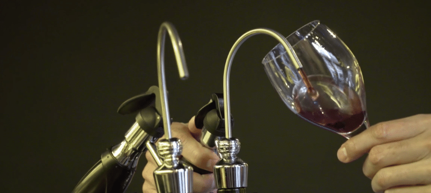 Conservation et service du vin au verre