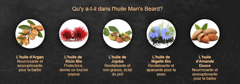 Man's Beard: huile de barbe // senteurs