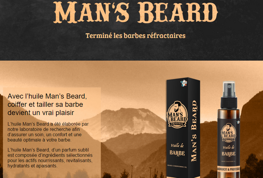 huile de barbe tendance
