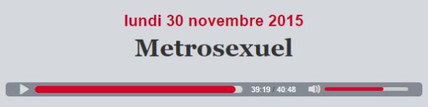 metrosexuel