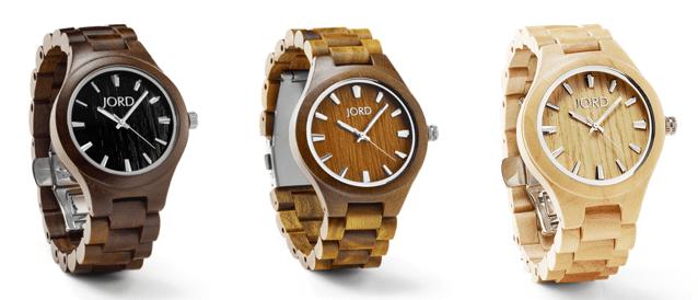 Montres en bois modèle élégant pour homme