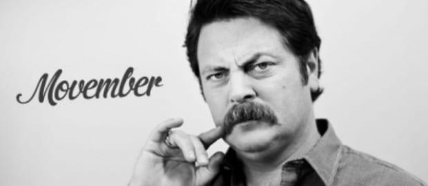 Movember: moustache homme tendance