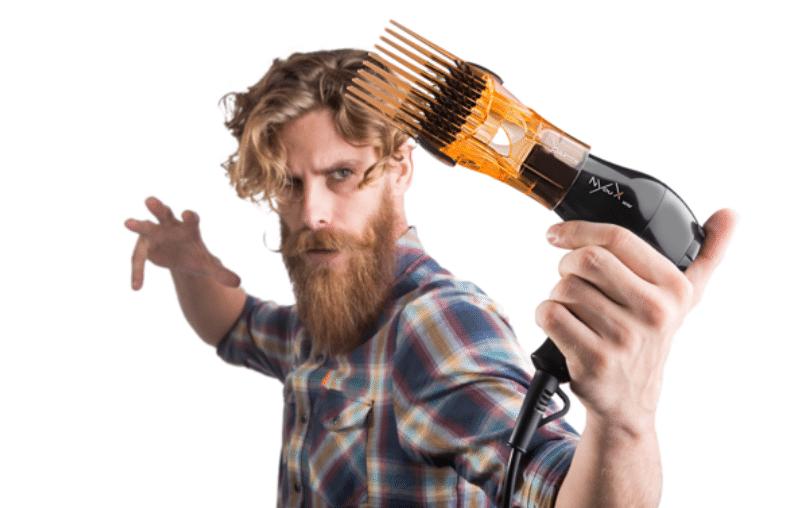 Sèche et lisseur de barbe longue