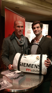 Le maillot de Zidane transformé en sac par 1bag1match