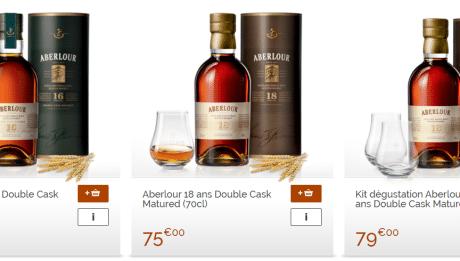 Exemples de cofferts cadeau whisky sur barpremium.com