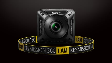 Nikon caméras d'action avec la KeyMission 360