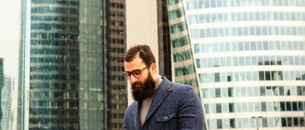 Le Comptoir de la barbe x L'HommeTendance.fr photo: Paris La Défense