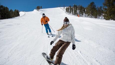 skier à Andorre