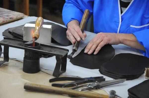 Atelier de fabrication d'accessoires en cuir Frandi