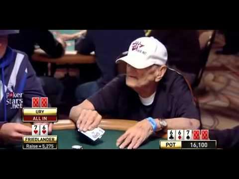 Joueur de Poker doyen