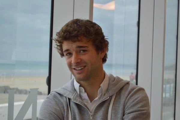 Pierre Le Coq, champion du monde de planche à voile RS:X