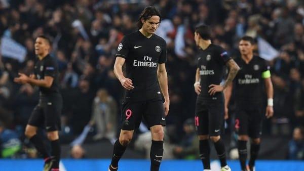 PSG et sa défaite en 1/4 de final de league des Champions/ // afp.com/PAUL ELLIS