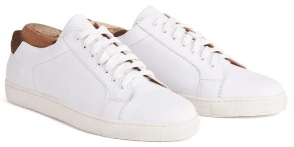 chaussure,homme,été,blanche,Bexley
