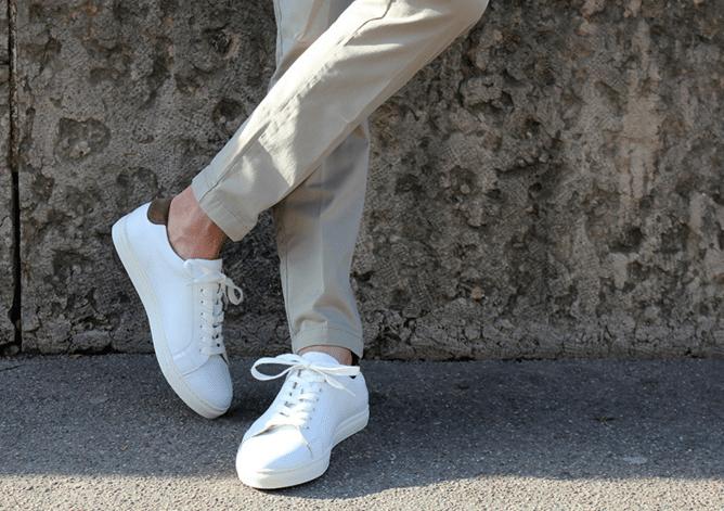7e6e9379794ebb chaussure-homme-été-blanche-Bexley pas cher