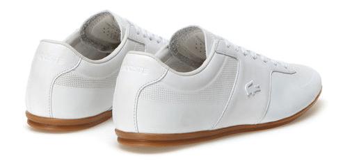 chaussure,homme,été,blanche,lacoste,2016