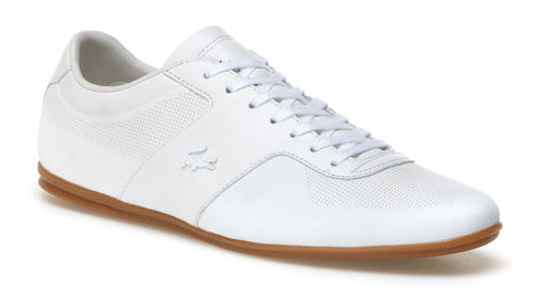 Chaussures blanches homme