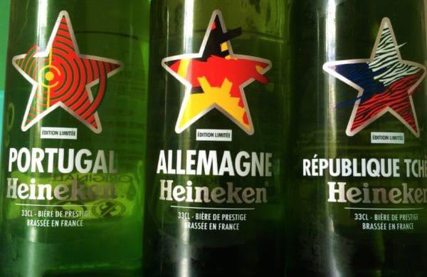 Bouteilles Heineken-Countries-Edition