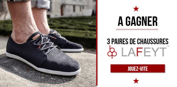 Jeu concours Lafeyt sur L'hommeTendance.fr