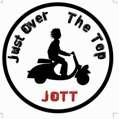 Just over the top / JOTT logo