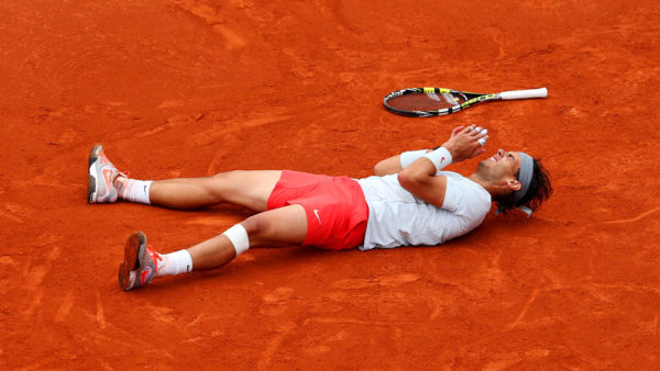 Photo :Nadal 2013, la 8ème rafale.