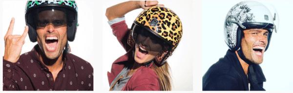 Casque moto pas cher et tendance Exklusiv pour homme et femme urbains