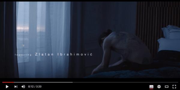 Zlatan Ibrahimović publicité Volvo