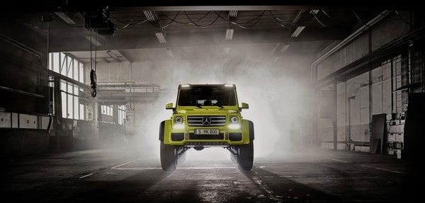 Mercedes-Benz G 500 4x4² Showcar