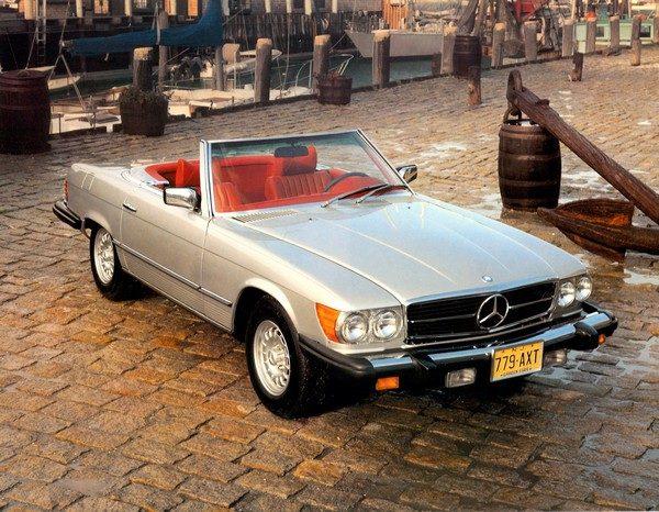 Mercedes-Benz Typ 450 SL (R 107, 1971 bis 1989), USA 1979.