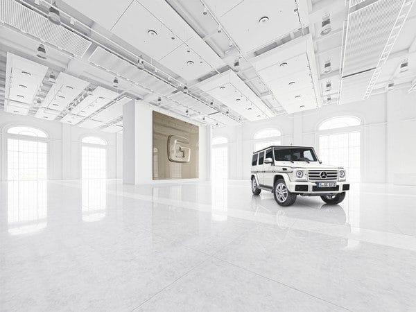 Mercedes-Benz G-Klasse,designo manufaktur, Exterieur: polarweiß