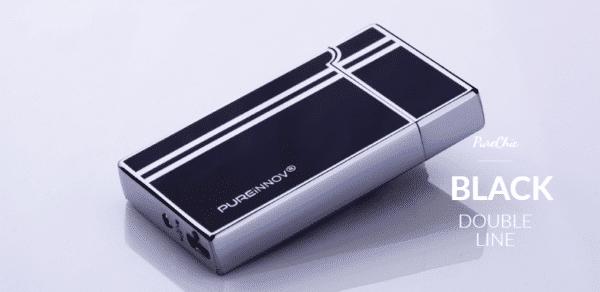 Briquet USB arc électrique noir