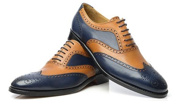 chaussures,richelieu,homme bi,colors