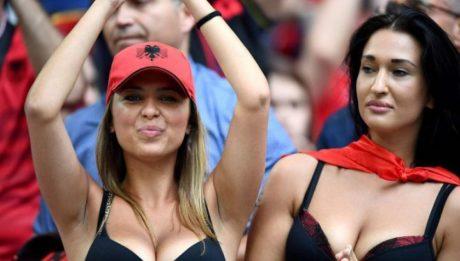 Les belles supportrices de L'euro 2016