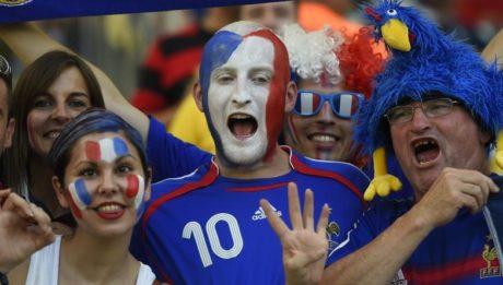 Supporter Français Euro 2016 ©Odd Andersen/AFP