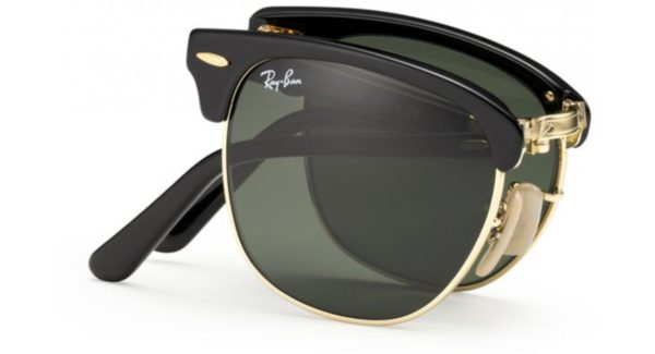 1f73e8b3ad Lunettes de soleil homme pliable RAY BAN FOLDING CLUBMASTER