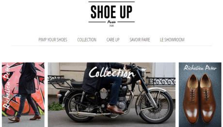 Shoe Up c'est un nouveau concept pour vous les hommes
