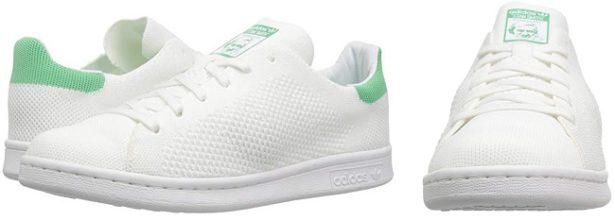 adidas-stan-smith-toile-blanche-vert