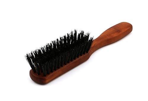 Brosse à barbe avec manche en bois de poirier Image