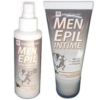 PACK MENEPIL SPRAY & MOUSSE DEPILATOIRES - Corps & Parties Intimes Image