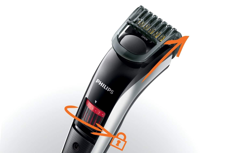 PHILIPS - QT4013/16 - Tondeuse Barbe de 0,5 mm à 10 mm avec Lames en Titane Image