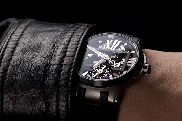 Montre Executive-skeleton-tourbillon Ulysse Nardin