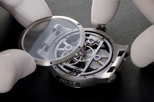 Montre Executive Skeleton Tourbillon Ulysse Nardin: un bijou de technologie