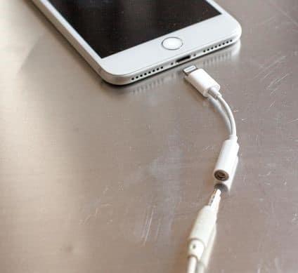 Fin de la prise Jack sur l'iPhone 7
