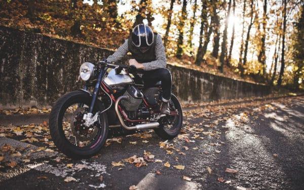 Café racer BAAK Motocyclettes Moto Guzzi