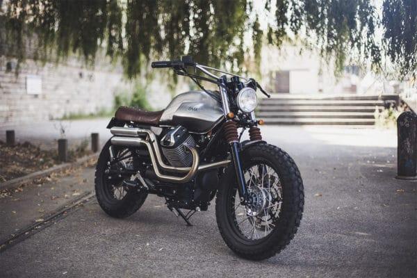 Café-racer-BAAK Motocyclettes-Moto Guzzi