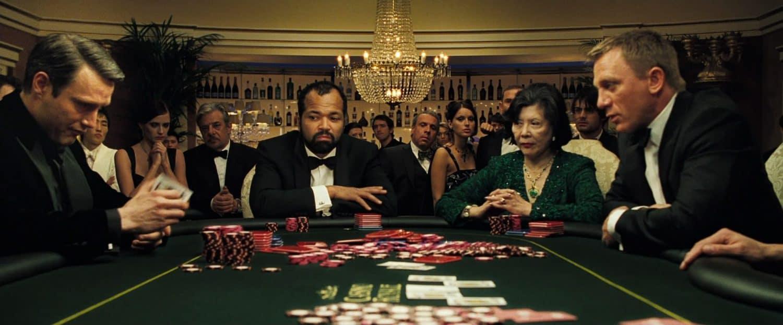 Table de poker sous pression