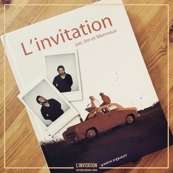 l'invitation le film : BD