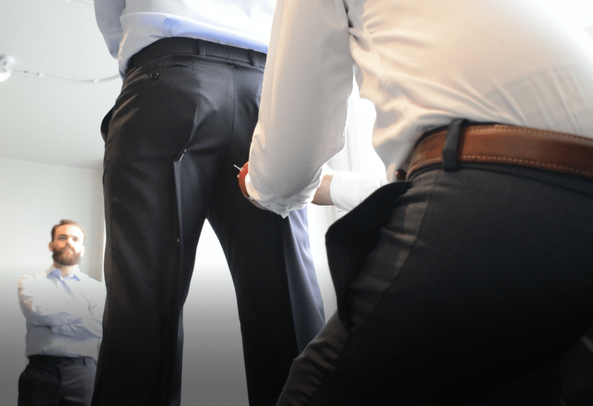 Ajustement du pantalon